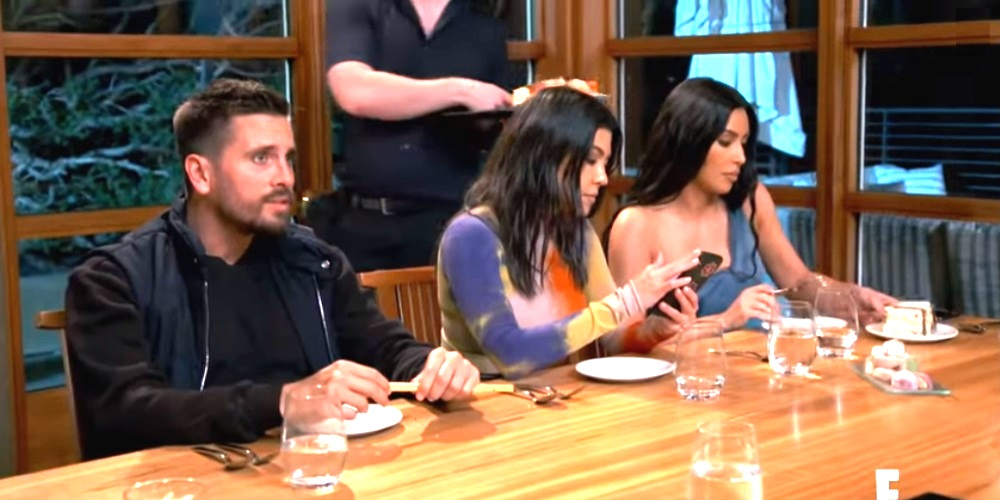 Keeping Up With The Kardashians- Scott Disick, Kourtney Kardashian- Kim Kardashian