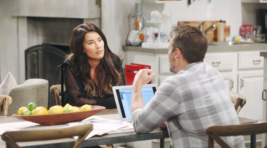 Bold and the Beautiful Spoilers - Steffy Forrester - Jacqueline MacInnes Wood - Liam Spencer - Scott Clifton