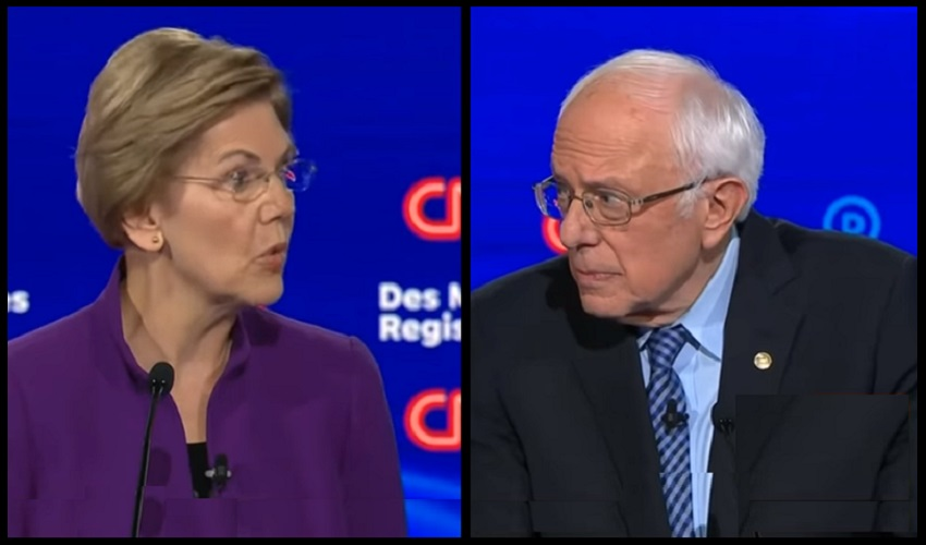 Elizabeth Warren -Bernie Sanders