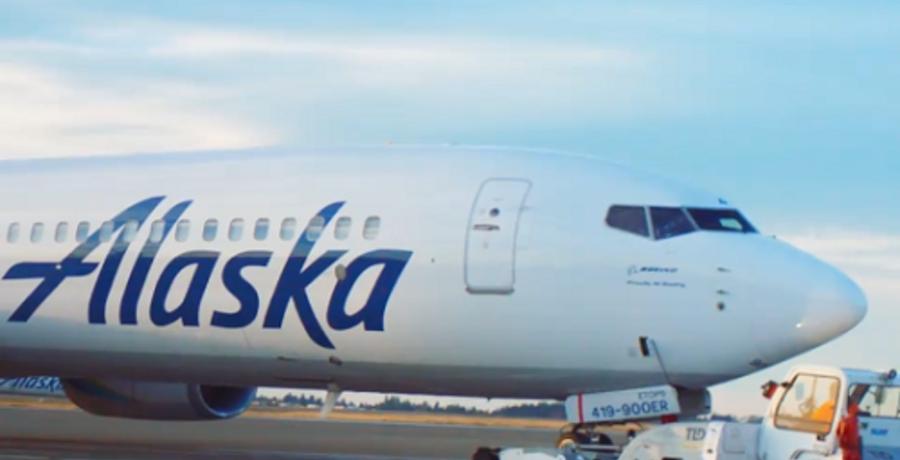 alaska airlines instagram screencap