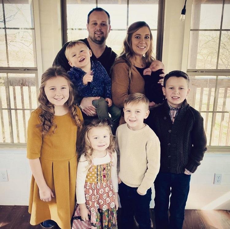 Anna Duggar Josh Duggar Family Instagram