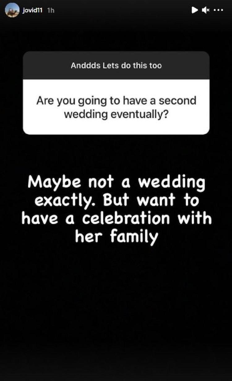 Jovi Dufren Post Instagram