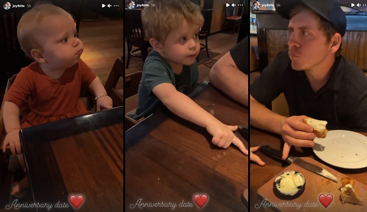 Joy-Anna Duggar Austin Forsyth Kids Instagram