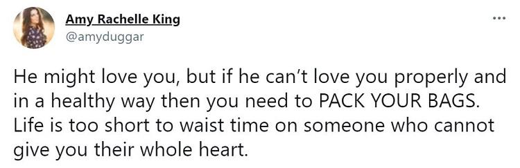 Amy Duggar Post Twitter