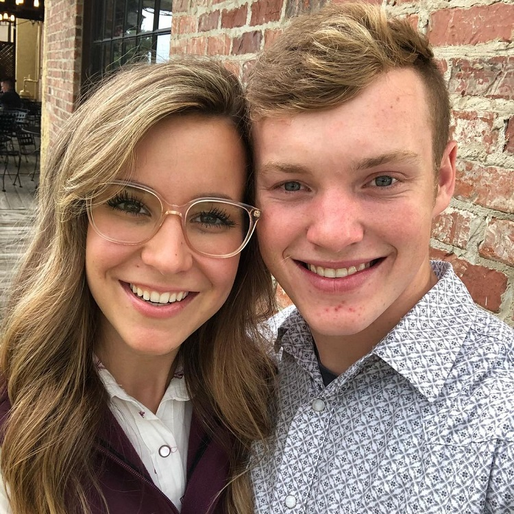 Claire Spivey Justin Duggar Pic Instagram