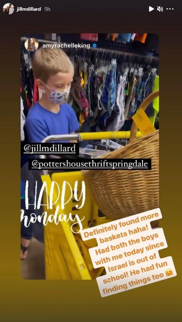 Counting On Jill Duggar post 1 Instagram