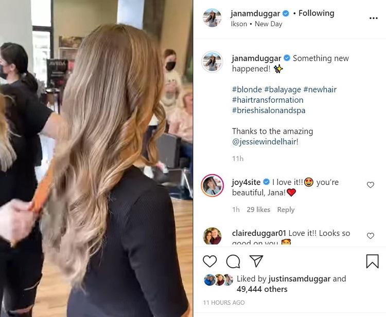 Jana Duggar 3 Instagram