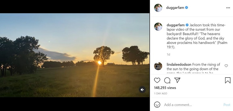 Jim Bob Duggar Post Instagram