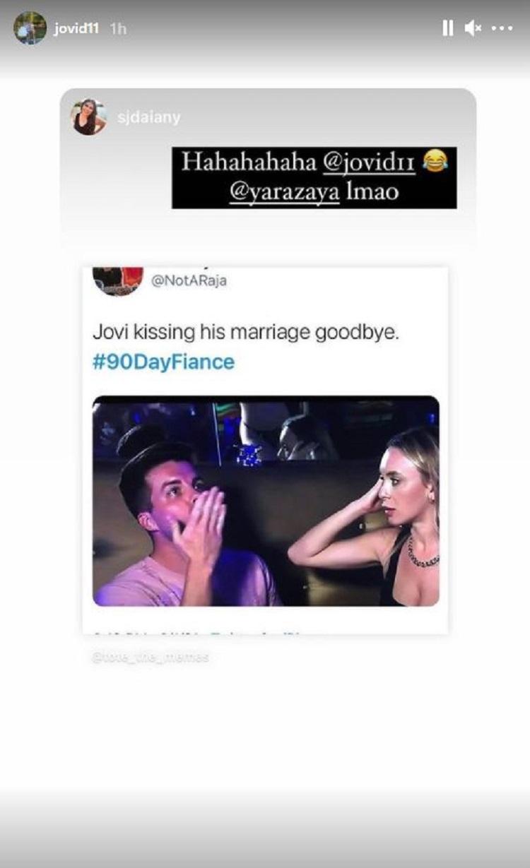 Jovi Dufren Instagram