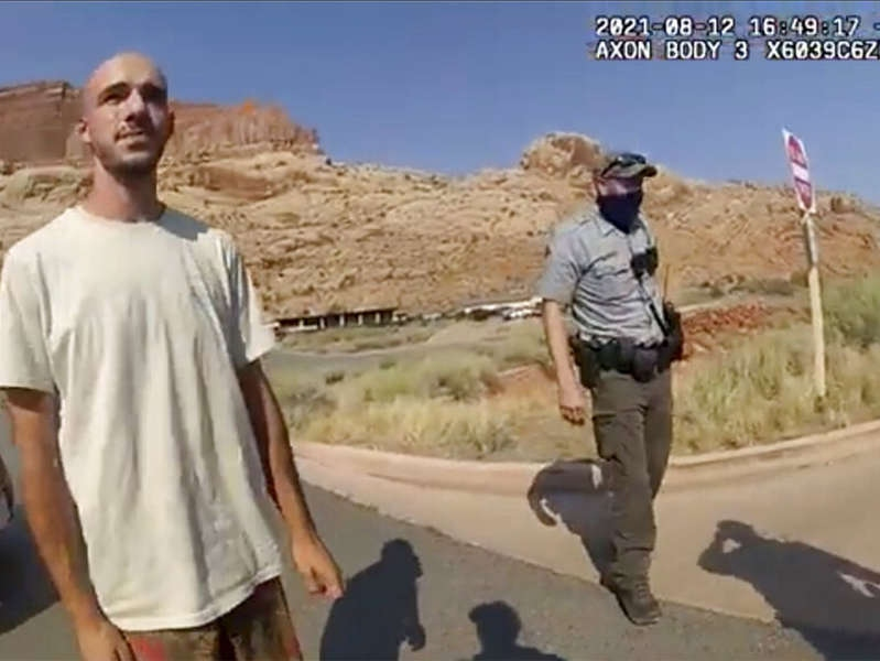 Brian Laundrie Moab Police Department via Associated Press