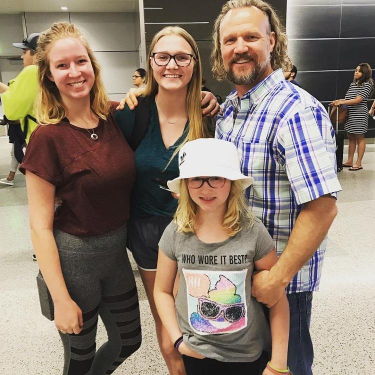 Sister Wives Kody Brown Kids Pic Instagram